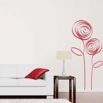 Stenska nalepka Moderni roži